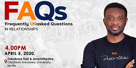 Frequently unAsked Questions About Relationship 2020 tickets