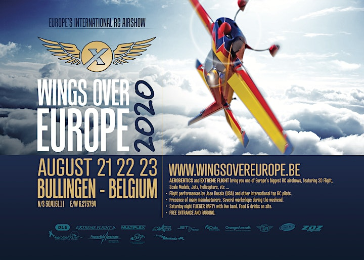 Afbeelding van Wings over Europe 2022