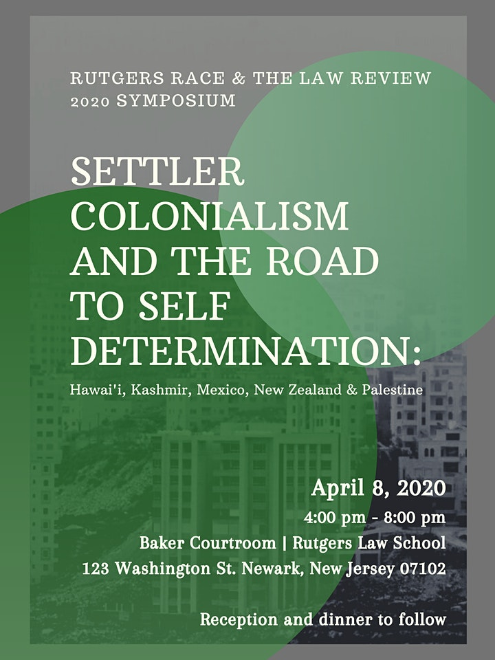 Settler Colonialism & the Road to Self Determination image