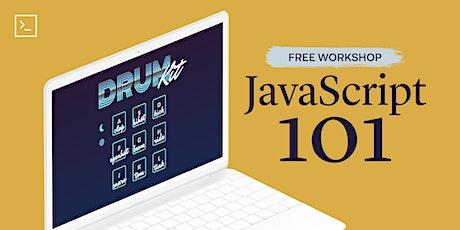 JavaScript 101 (Live Online) tickets