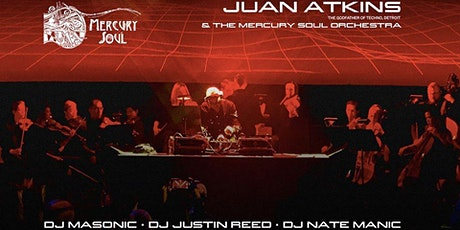 Canceled Mercury Soul Presents: Juan Atkins With The Mercury Soul Orchestra tickets