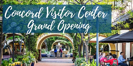 Visit Concord - Visitor Center Grand Opening tickets
