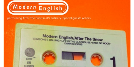 Modern English tickets