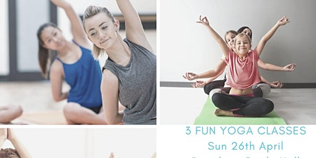 Mini Yogis / Kids Yoga Class / Teen+Adult Yoga Class tickets