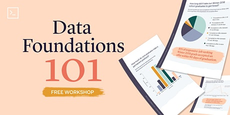 Data Foundations 101 (Live Online) tickets