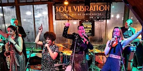 Nieuwe datum! Soul Vibration terug in De Cactus (Soul uit de jaren 60/70) tickets