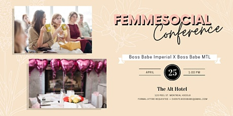 FemmeSocial Conference tickets