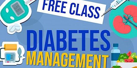 Diabetes Management Classes - FREE tickets