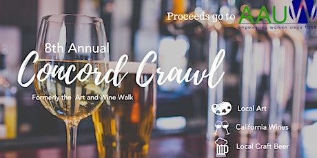 8th Annual Concord Crawl tickets
