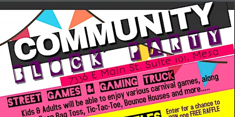 Community Block Party tickets