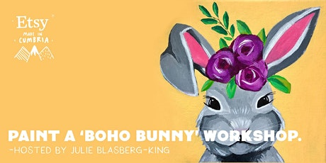 Paint a 'Boho Bunny' Workshop tickets