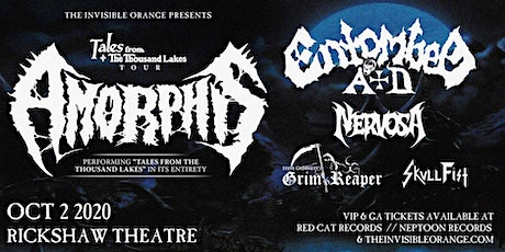 Amorphis with Entombed A.D., Nervosa, Grim Reaper, Skull Fist tickets