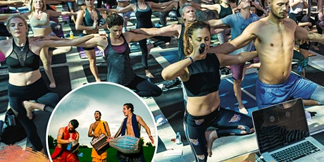 YogArt Rocks in the Design District - Our last session of the season ! tickets