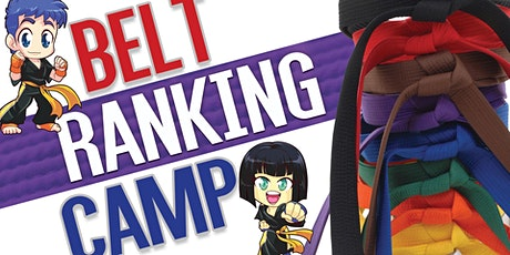 Belt Ranking Summer Camp! tickets