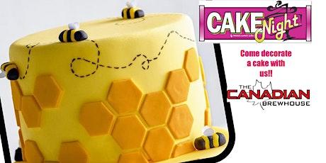 CakeNight - Ellerslie - Bee Cake tickets