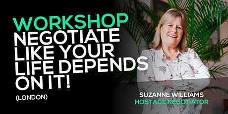 Workshop: Negotiate like your life depends on it (London) tickets