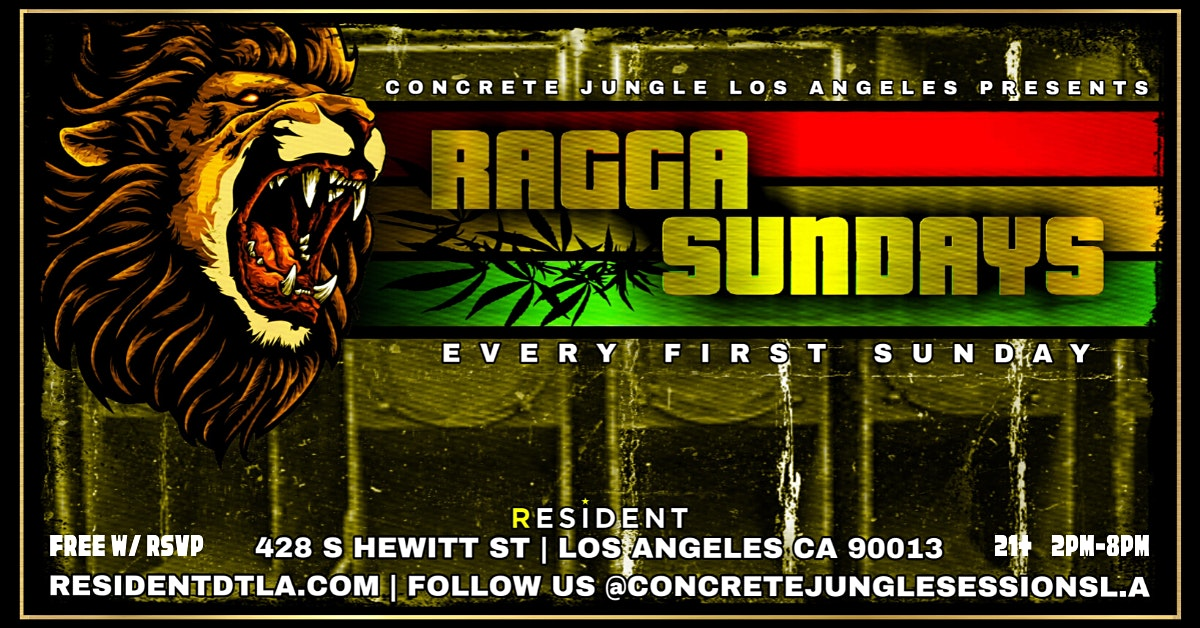 Postponed // Ragga Sundays