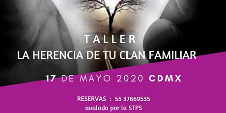 Taller: La Herencia de tu Clan familiar entradas