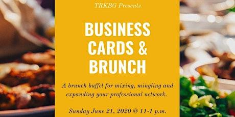 Business Cards & Brunch tickets