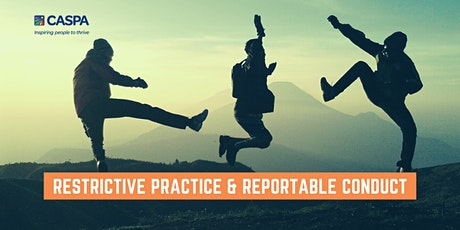 *POSTPONED* Restrictive Practice & Reportable Conduct (new date TBC) tickets