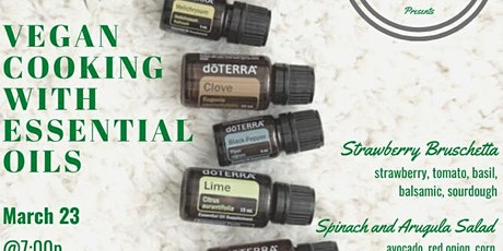The Art of Vegan Cooking With Essential Oils tickets