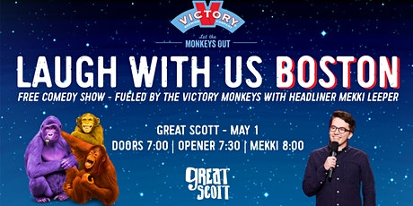 Let the Monkeys Out, Boston! Comedy Show at Great Scott with Mekki Leeper tickets