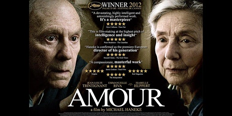 Tuesday French Movie Night : Amour tickets