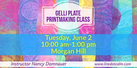 Gelli Plate Printmaking June 2020 tickets