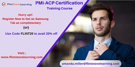 PMI-ACP Certification Training Course in Appleton, ME tickets