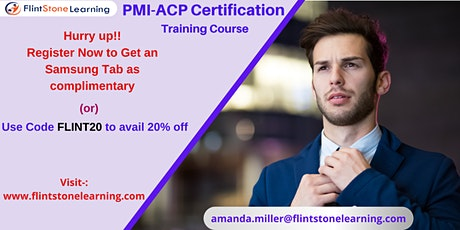 PMI-ACP Certification Training Course in Arrowsic, ME tickets