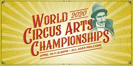 World Circus Arts Championships boletos