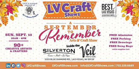 A September to Remember Arts & Craft Show tickets