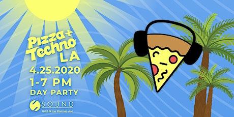 [POSTPONED] Pizza & Techno LA at Sound 4.25.20 tickets