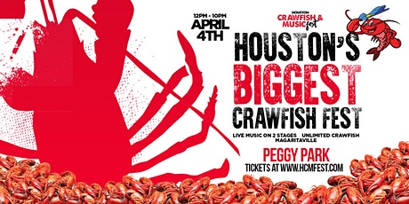Houston Crawfish and Music Festival tickets