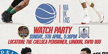 NBA UK FANS WATCH PARTY LONDON tickets