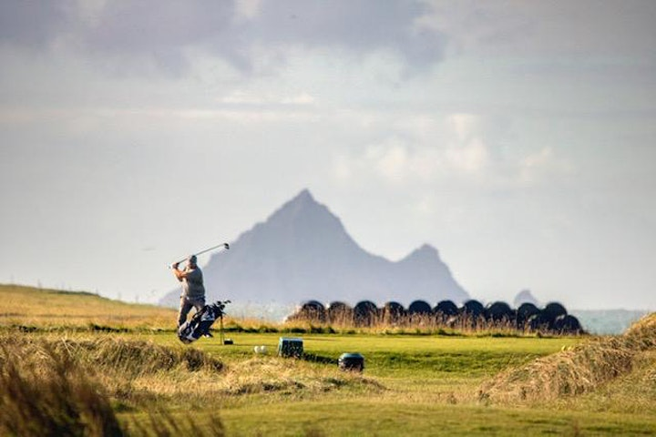 Golf Classic on the Ceann Sibéal Dingle Links course for St James' Dingle image