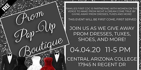 Prom Pop-Up Boutique  04.04.20 tickets