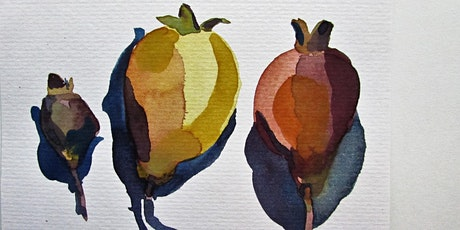 Watercolour and Mindfulness : Continuing Sunday June 27Workshop 4 tickets