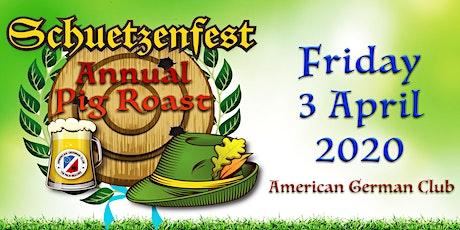 Pig Roast Schützenfest at the American German Club - POSTPONED tickets