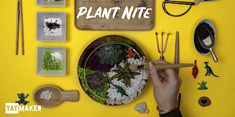Plant Nite: Make a Succulent Terrarium tickets