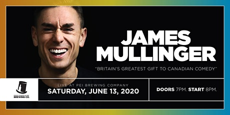 James Mullinger Live At The PEI Brewing Company tickets