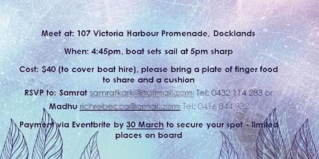 Kirtan Cruise on the Yarra tickets