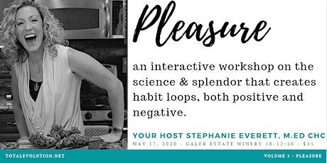 Interactive Workshop - 1 of 3 : Pleasure tickets