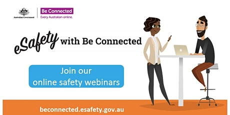 BeConnected Webinar - Safer online shopping tickets