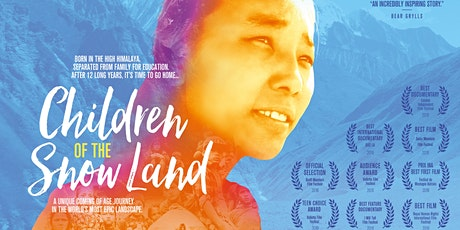 "Nepal fundraiser film night | ""Children of the Snow Land"" 