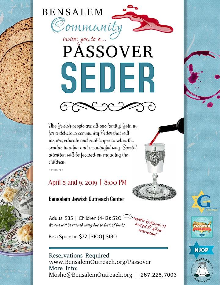 Community Passover Seder 2020 image
