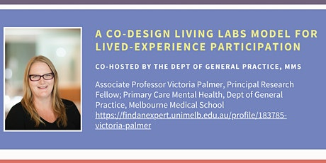A Co-Design Living Labs Model for Lived-Experience Participation tickets