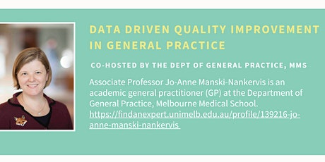 Data Driven Quality Improvement in General Practice tickets