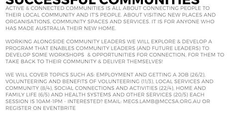 Active & Connected Communities: Volunteering & the benefits of volunteering 9/9 tickets