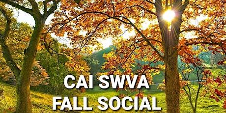 Fall CAI Social tickets